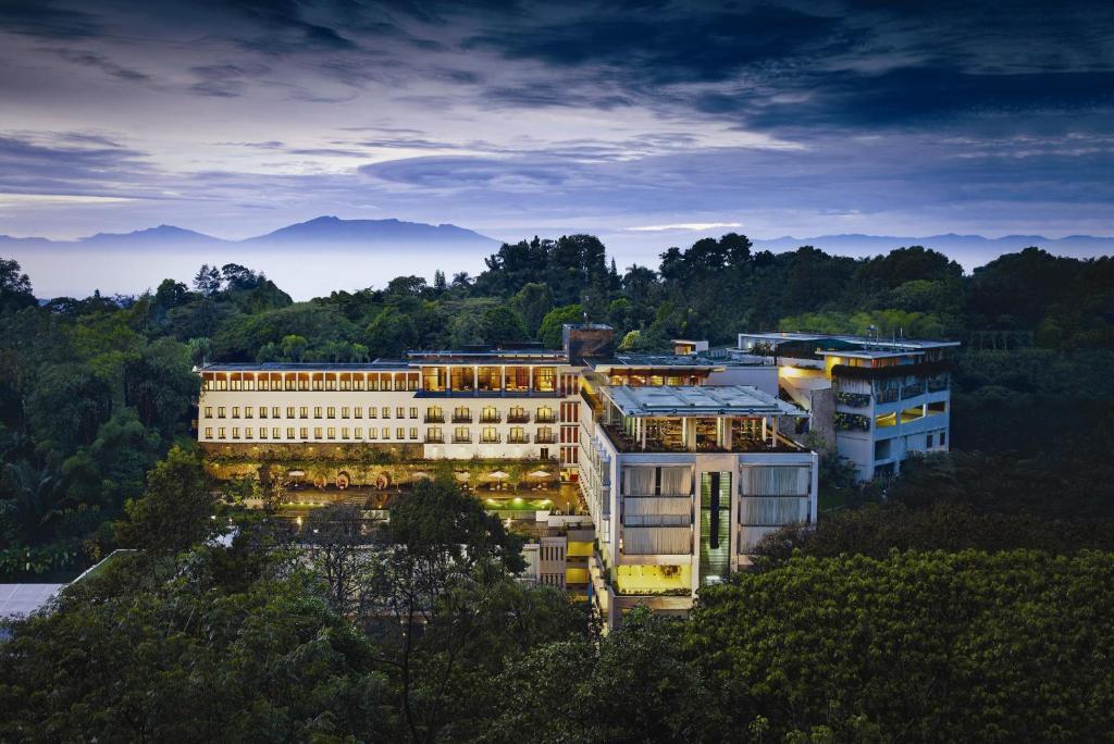 A bird's-eye view of Padma Hotel Bandung
