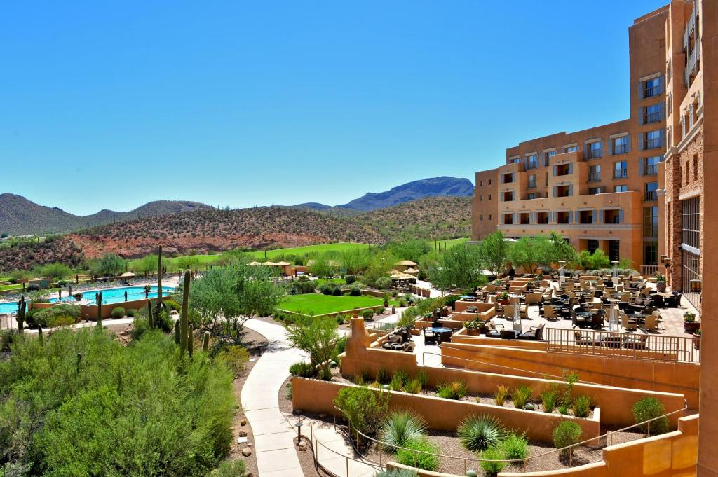 Resort jw marriott tucson starr az for Best spa vacations usa