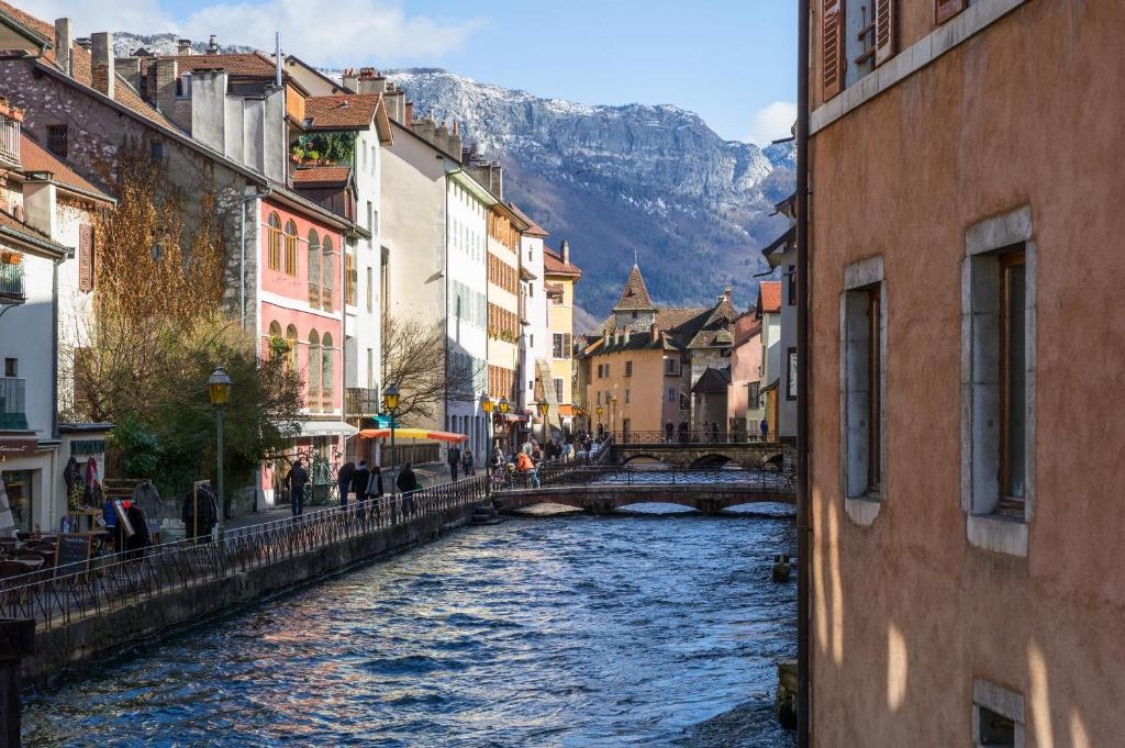 Les loges annecy vieille ville france for Hotel piscine annecy