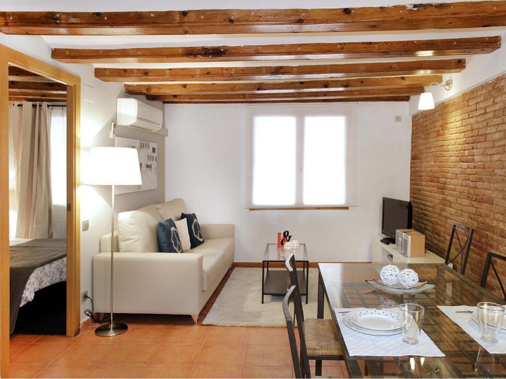 Zona de estar de Top Barcelona Apartments