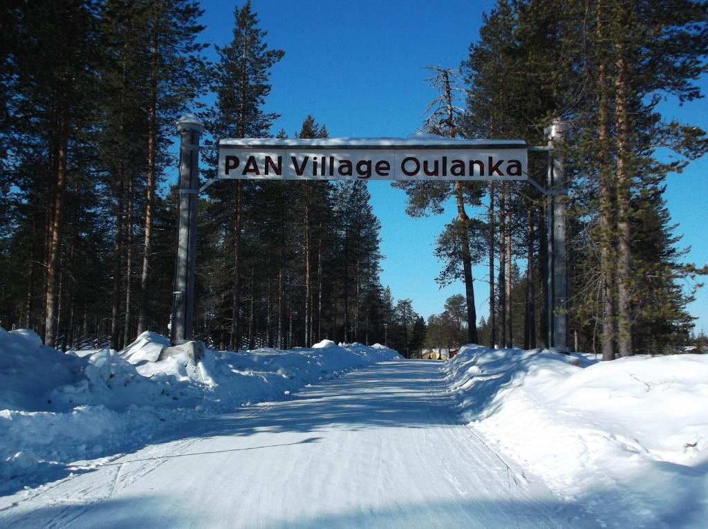 Sallainen Panvillage kapag winter