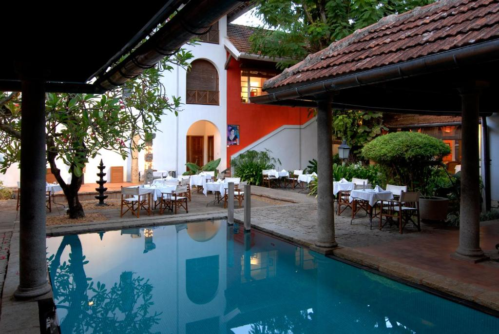 The swimming pool at or near Malabar House