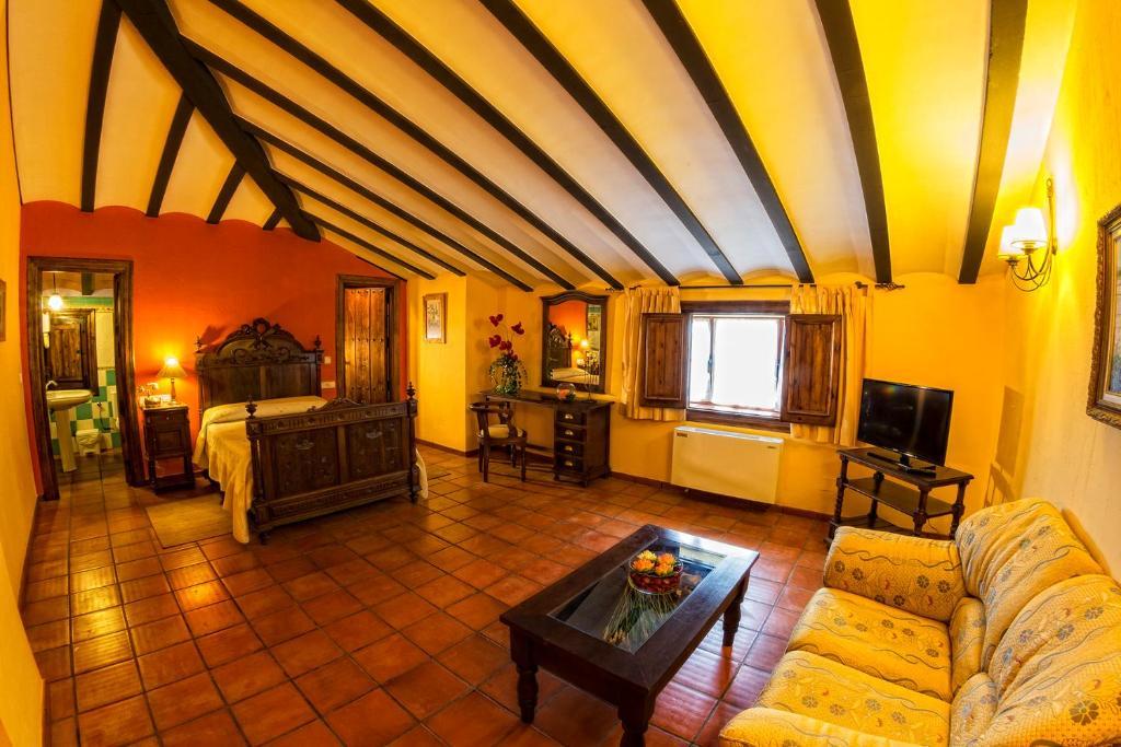 A seating area at Hotel Bodega La Venta