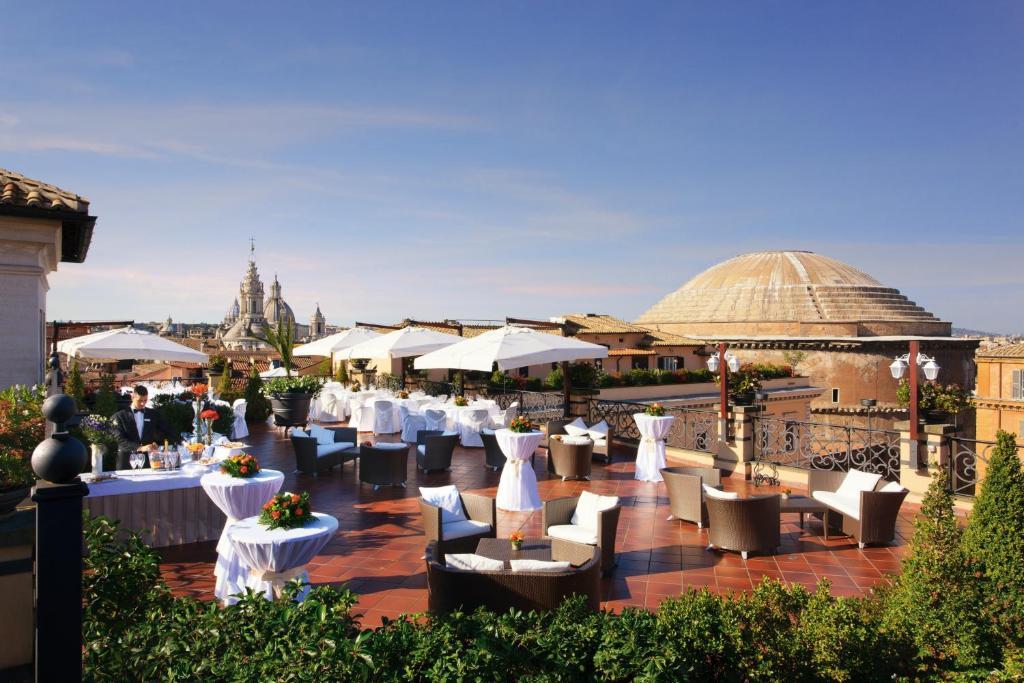 Grand Hotel De La Minerve, Roma – Prezzi aggiornati per il 2018
