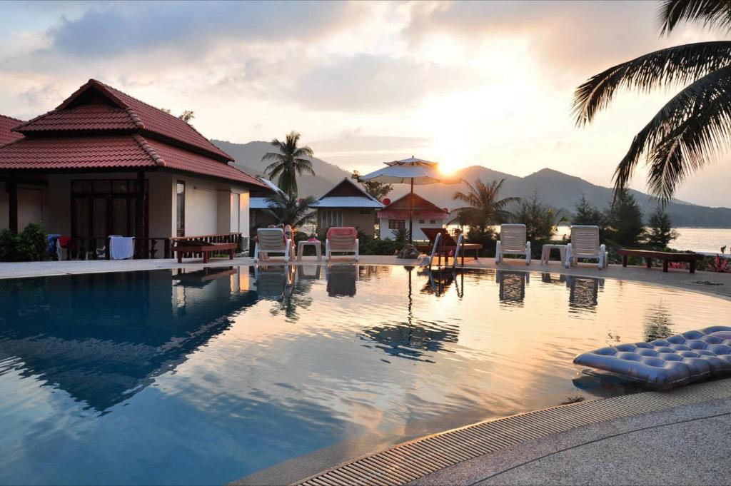 Piscina en o cerca de Buritara Resort, Phangan Island