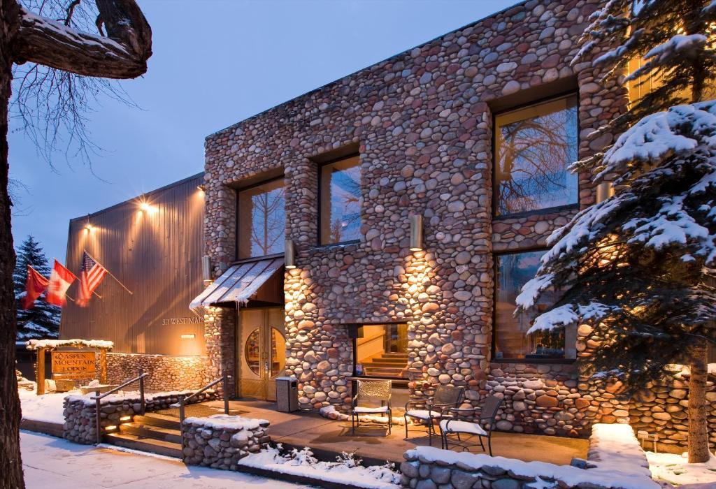 The Aspen Mountain Lodge.