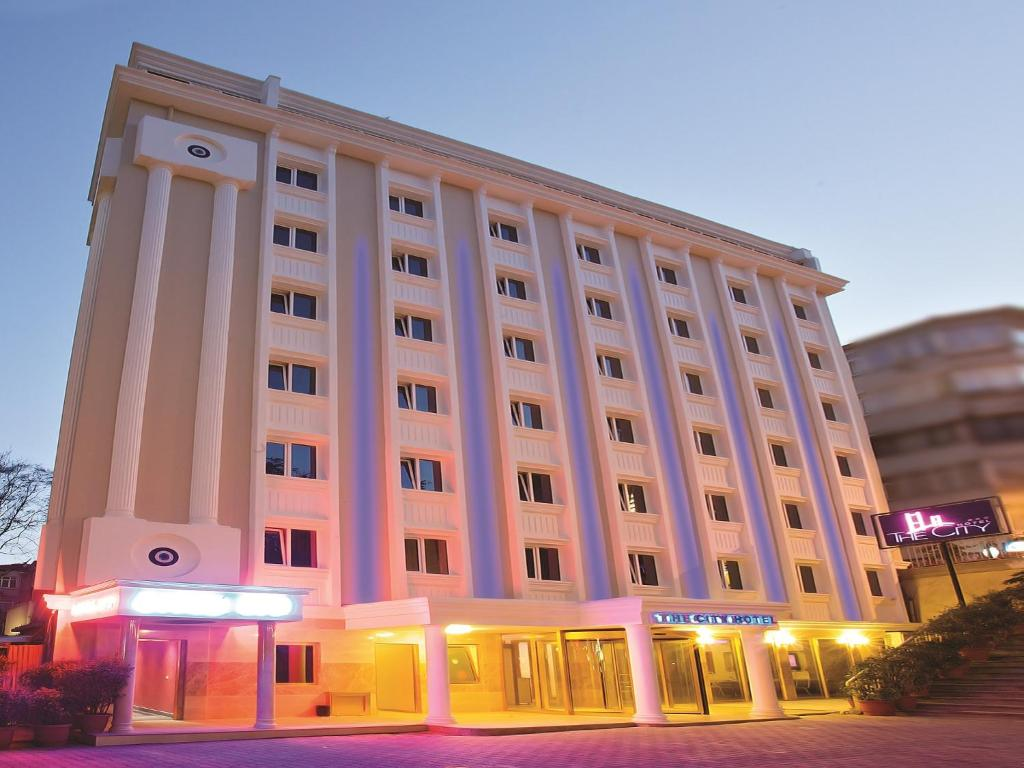 The city hotel istanbul turkey for Dekor hotel istanbul booking