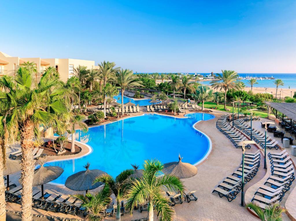 Uitzicht op het zwembad bij Barceló Fuerteventura Thalasso Spa of in de buurt