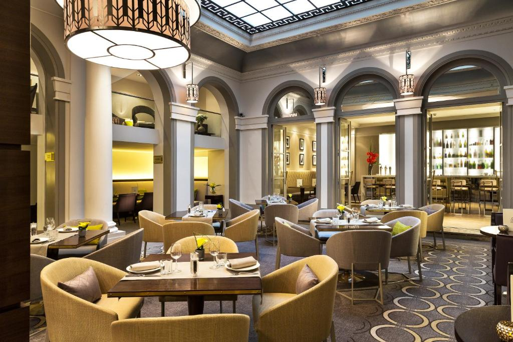 Restaurant Paris Marriott Opera Ambassador Hotel