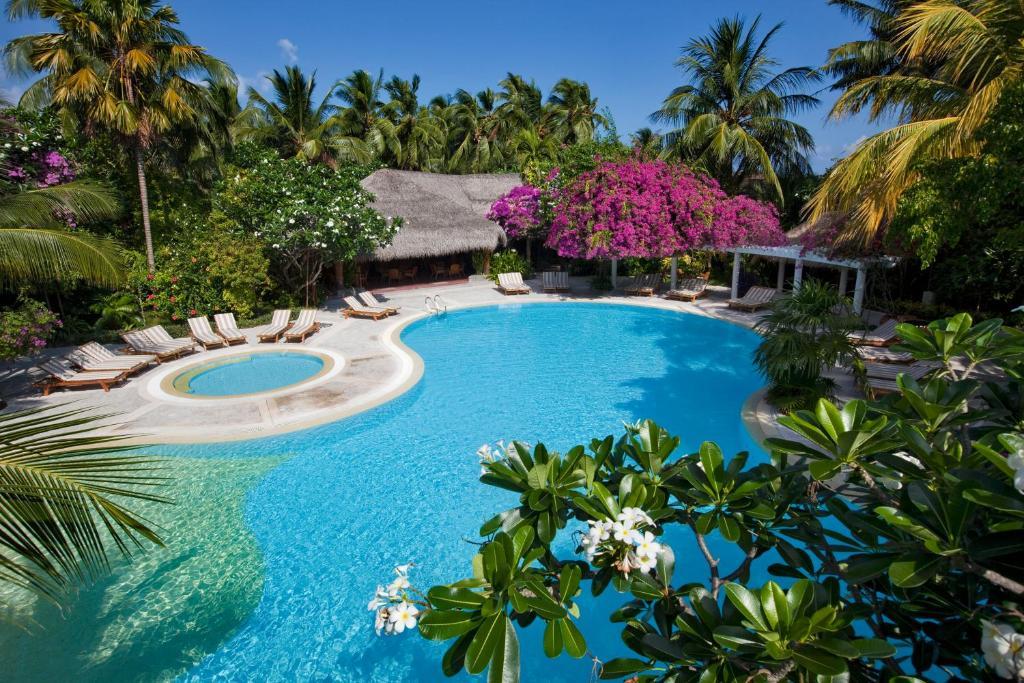 Бассейн, Насладитесь великолепным сервисом в Kuramathi Maldives
