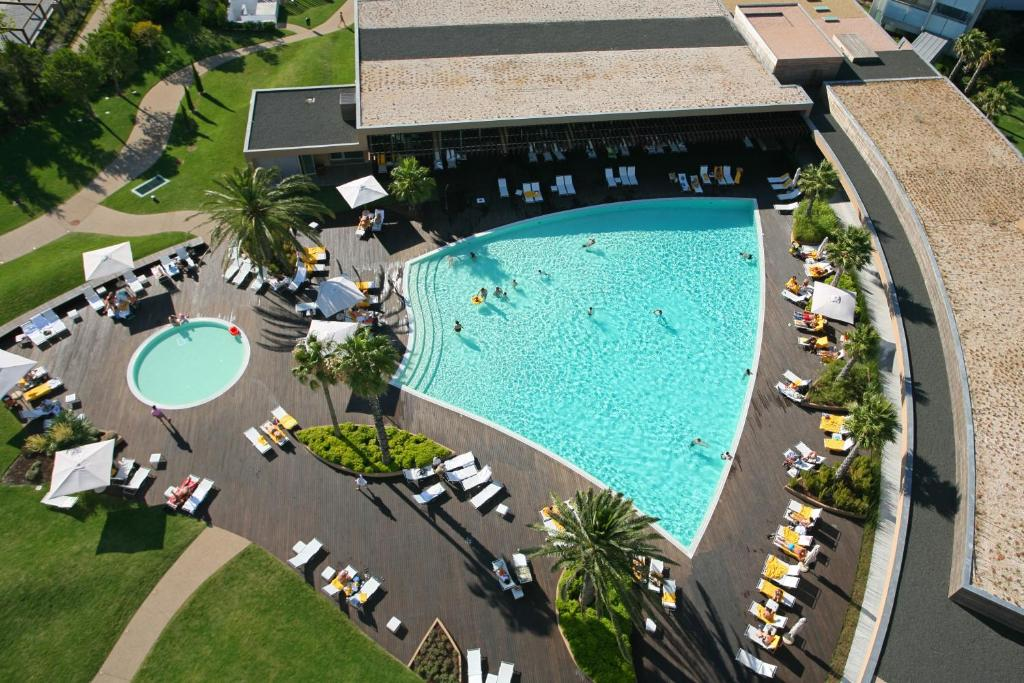 A view of the pool at Aqualuz Troia Mar & Rio Family Hotel & Apartments - S.Hotels Collection or nearby