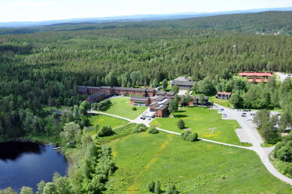 Apgyvendinimo įstaigos Sørmarka Konferansehotell vaizdas iš viršaus
