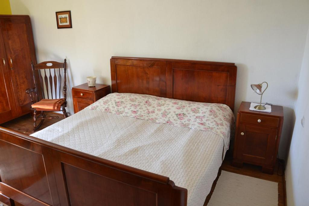 A bed or beds in a room at Ostir`s Holiday Home