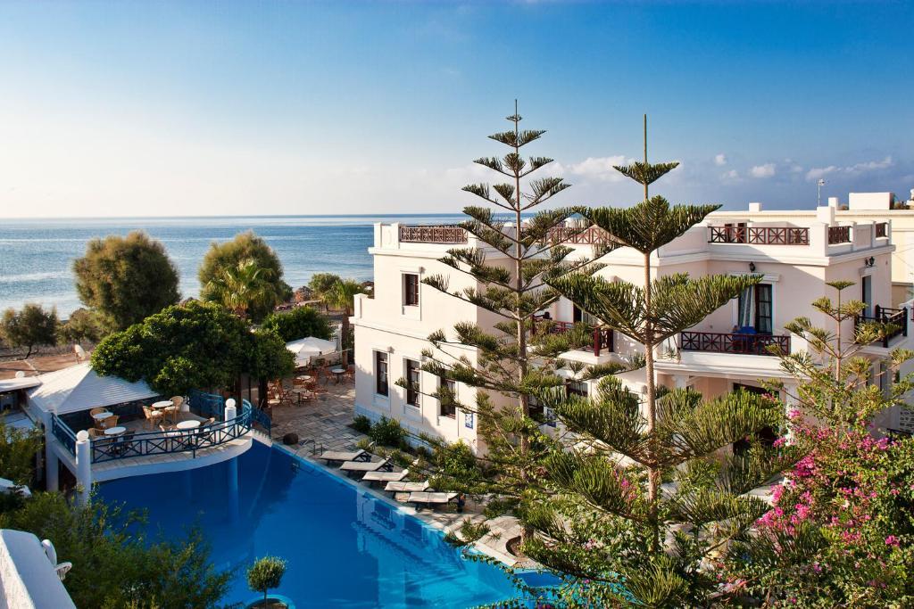 Veggera Beach Hotel Perissa Greece Booking Com