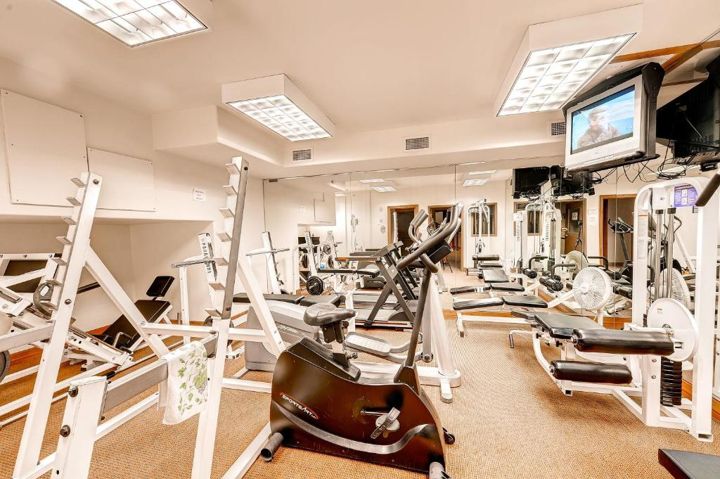 The fitness center and/or fitness facilities at Two-Bedroom Highland Greens Lodge # 303