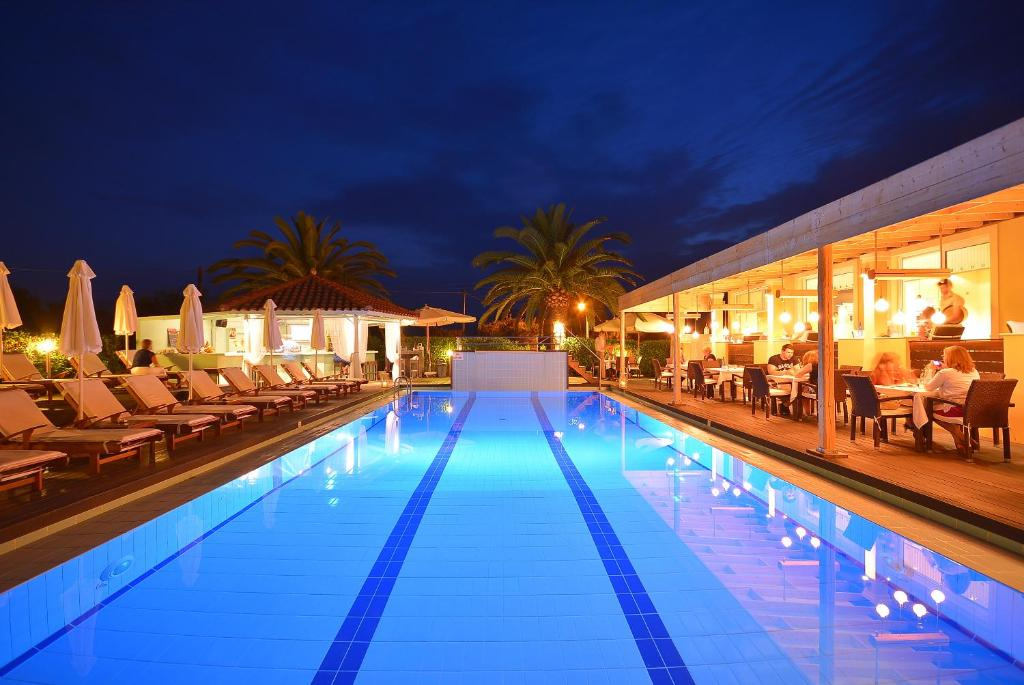 The swimming pool at or near Agrilia Hotel Adults Only