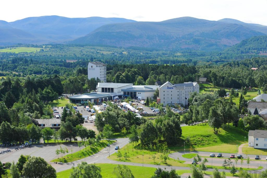 A bird's-eye view of Macdonald Aviemore Hotel