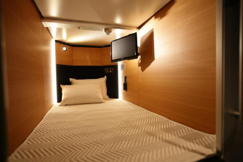 Capsule Hotel Cabana Male Only Osaka Japan Booking Com