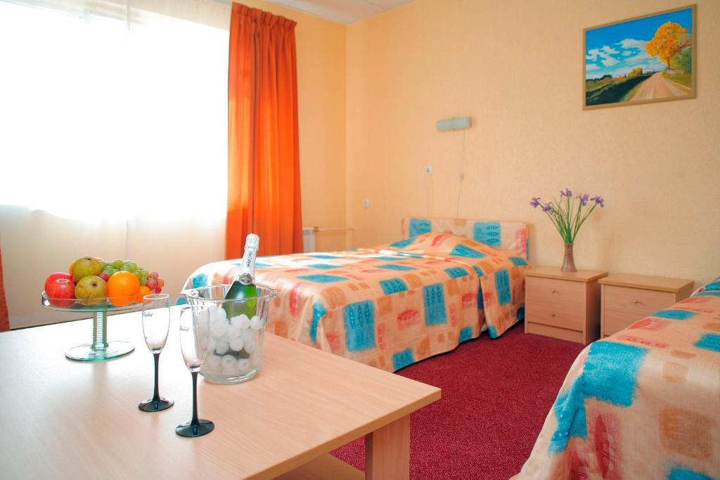 Lova arba lovos apgyvendinimo įstaigoje Rehe Hotel