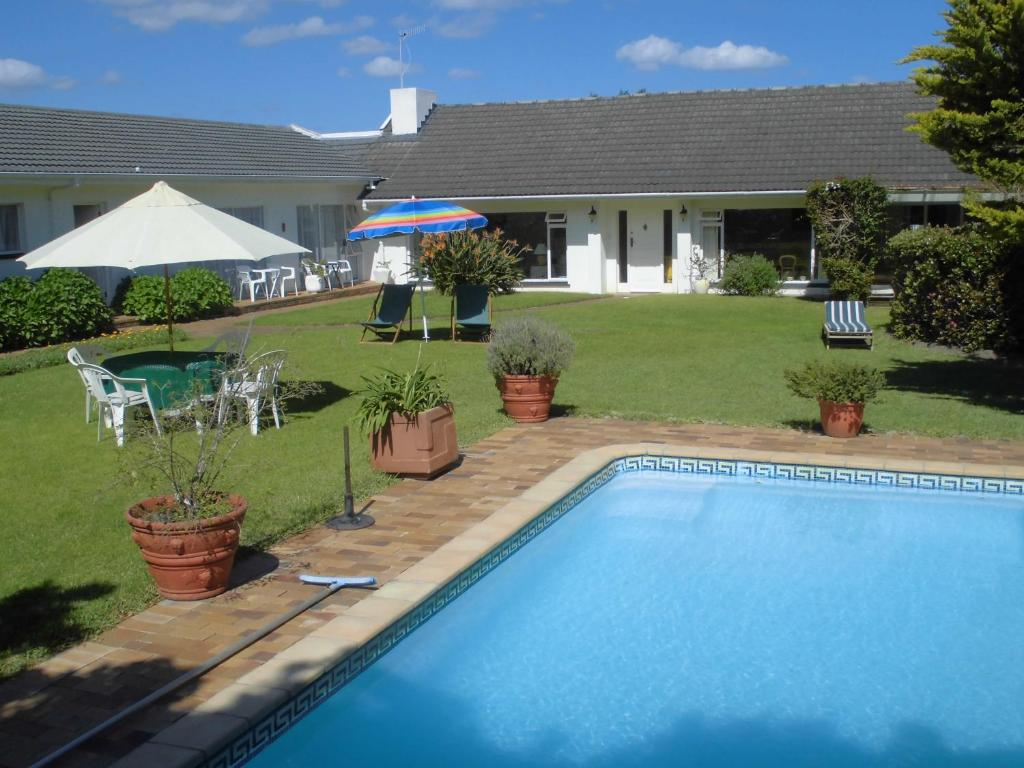 The swimming pool at or near Hortensia Lodge