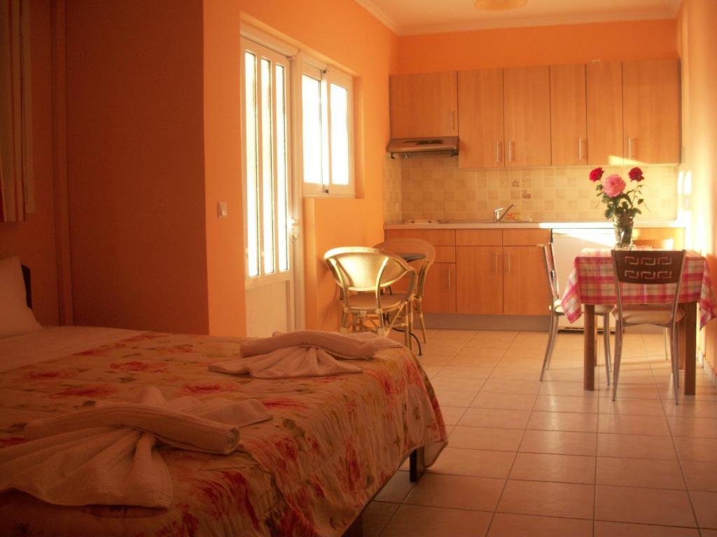 Квартира в остров Порос у моря