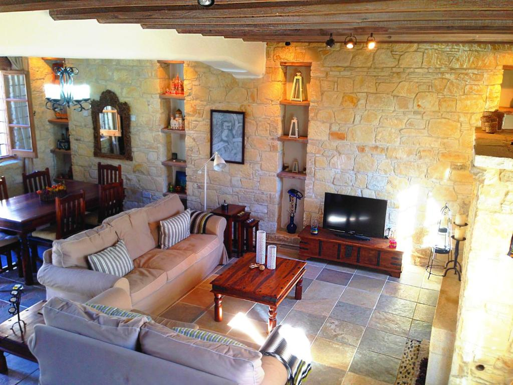 stone house furniture. lofou traditional stone house cyprus rooms furniture