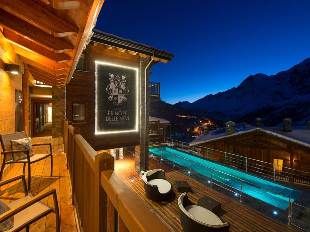 hotel principe delle nevi, breuil-cervinia, italy - booking