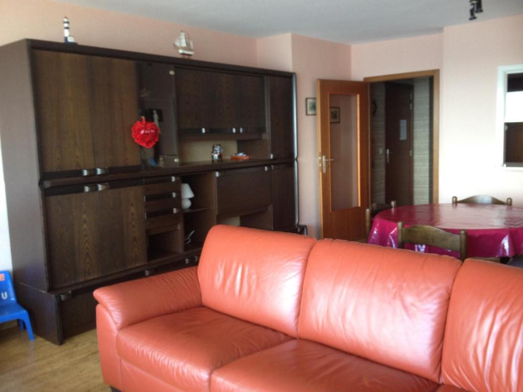 Een zitgedeelte bij Apartment Nord Vrie 8D