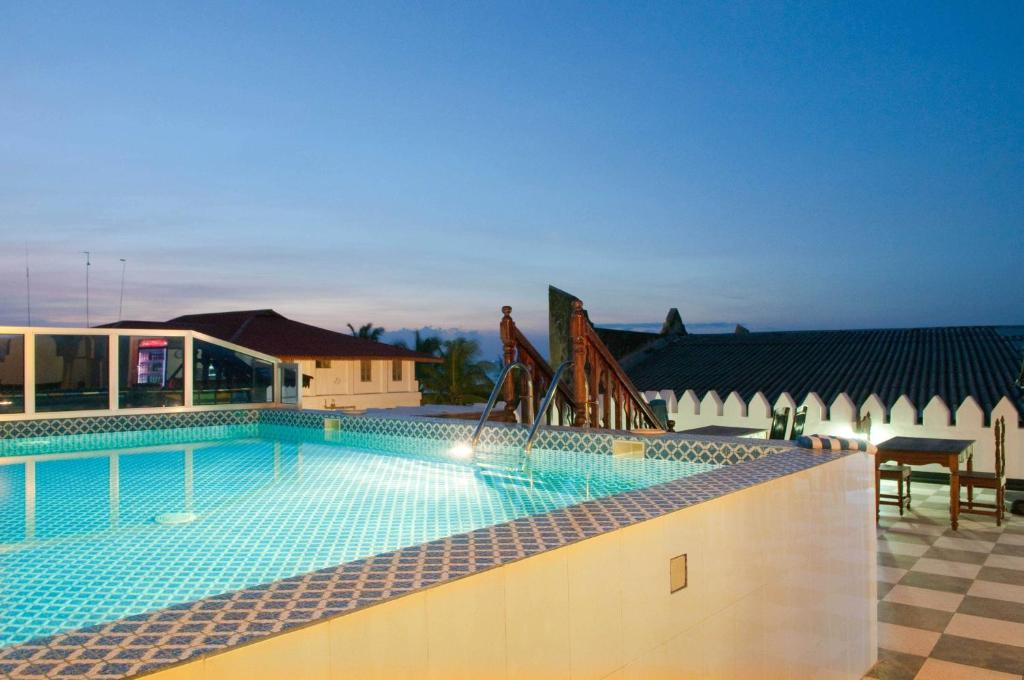 The swimming pool at or near Forodhani Park Hotel