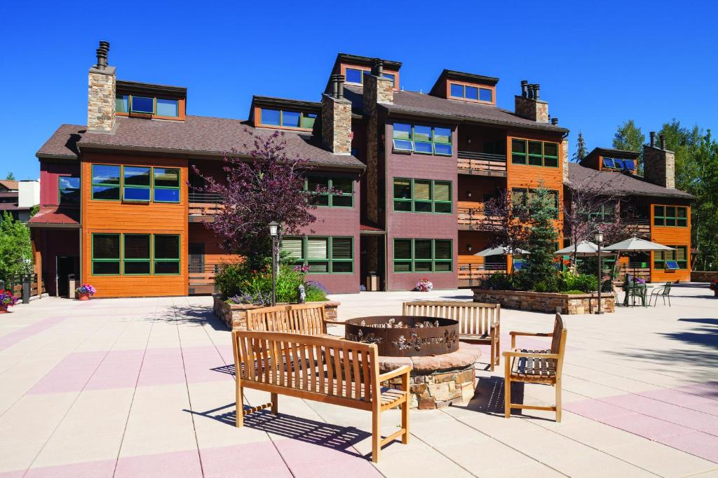 This rental housing building that is located in Steamboat Springs, CO.