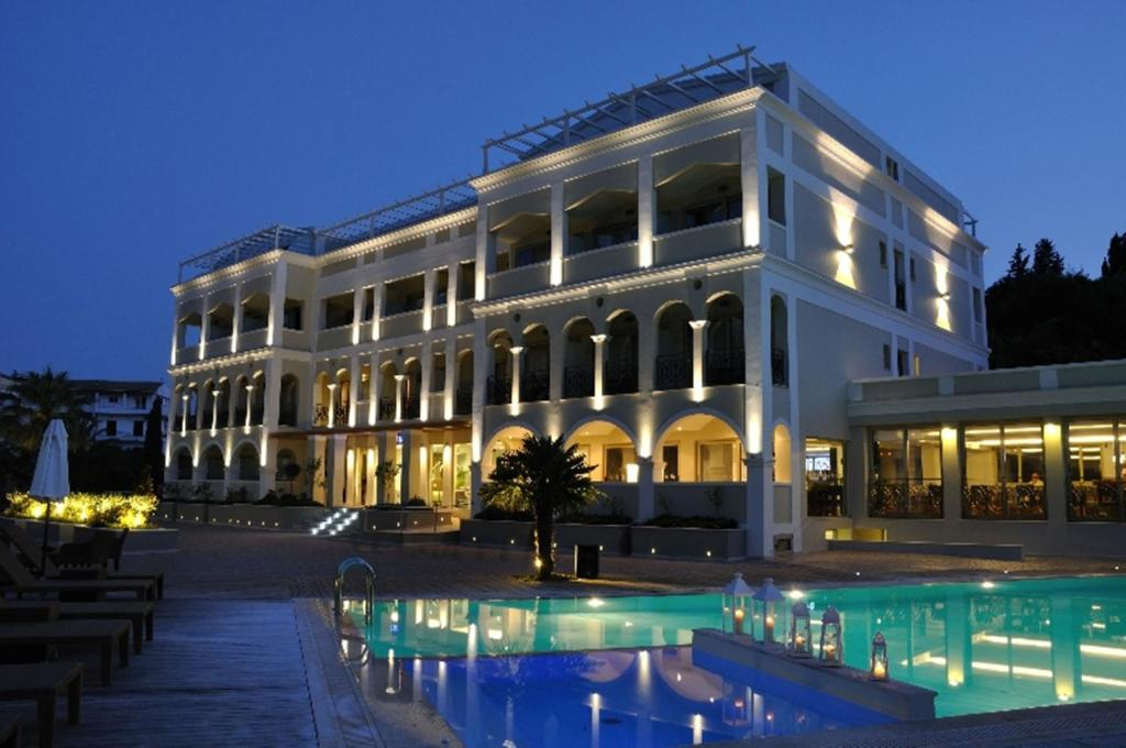 Hotel corfu mare adults only corfu town greece for Great small hotels italy