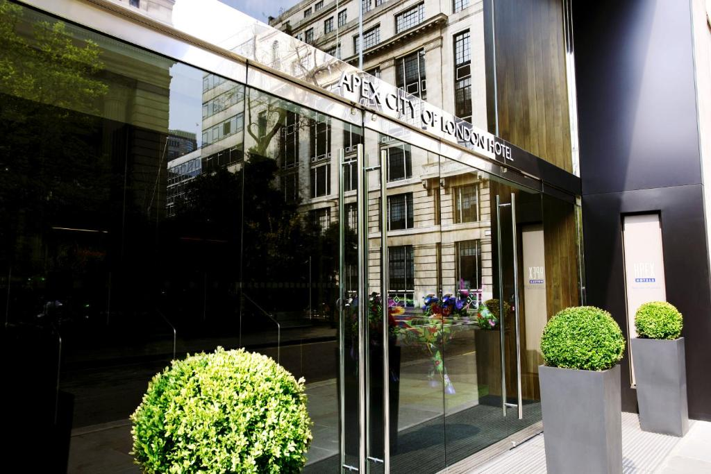 The Apex City of London Hotel.