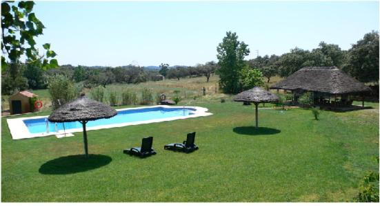The swimming pool at or near Cortijo Zalamea