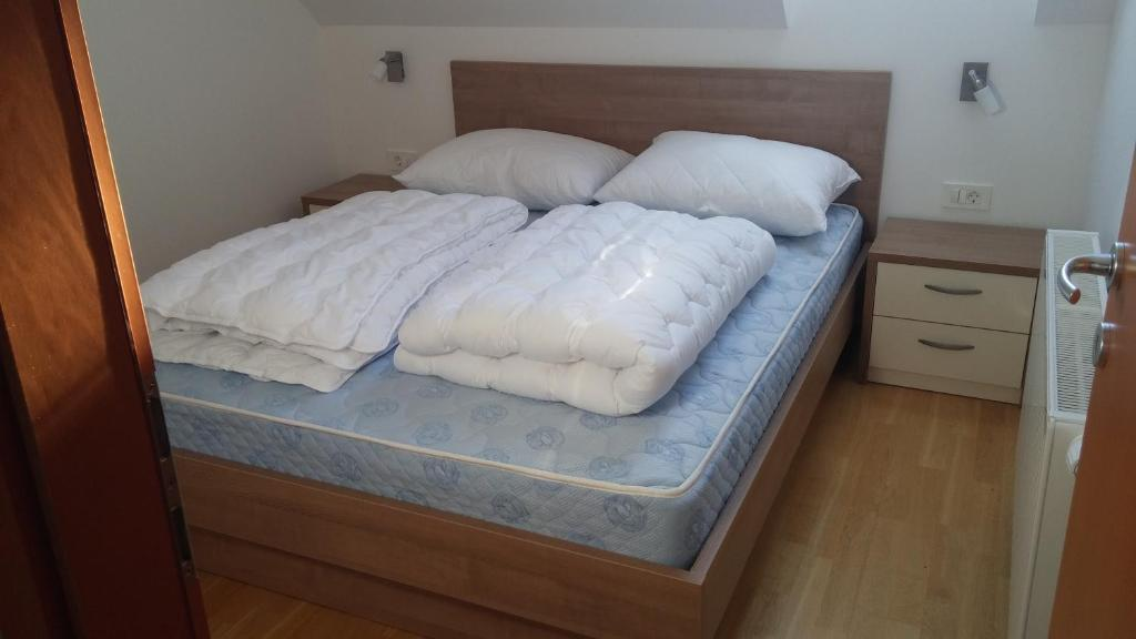 Postelja oz. postelje v sobi nastanitve Apartment Macesen