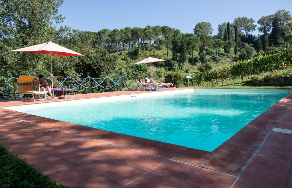 The swimming pool at or near Agriturismo Vitalba