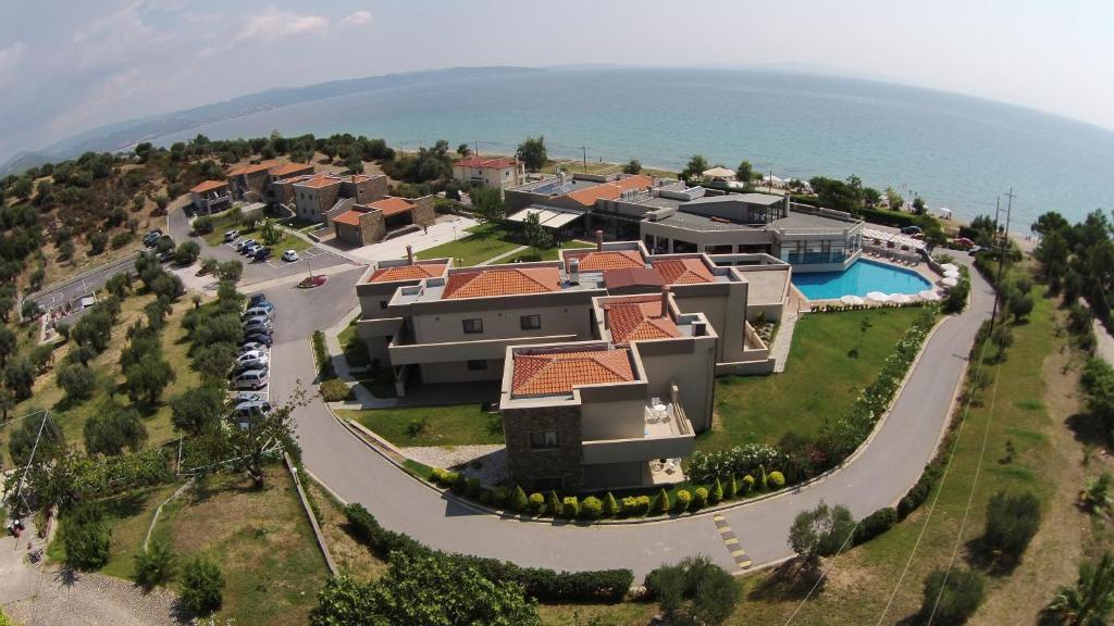 A bird's-eye view of Krotiri Resort