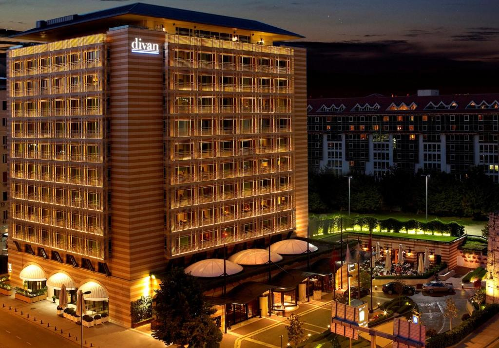 Hotel divan istanbul turkey for Divan turkey