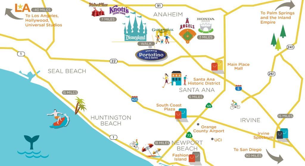 Hotel Anaheim Portofino and CA  Bookingcom