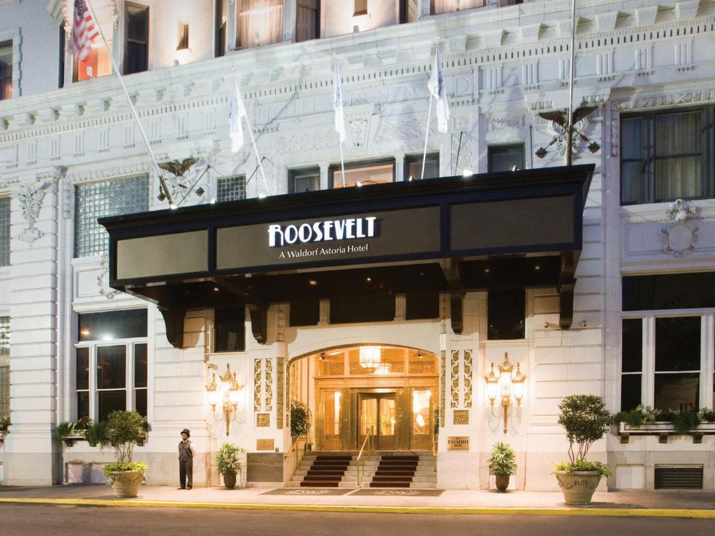 New Orleans Hotels >> The Roosevelt Hotel New Orleans La Booking Com