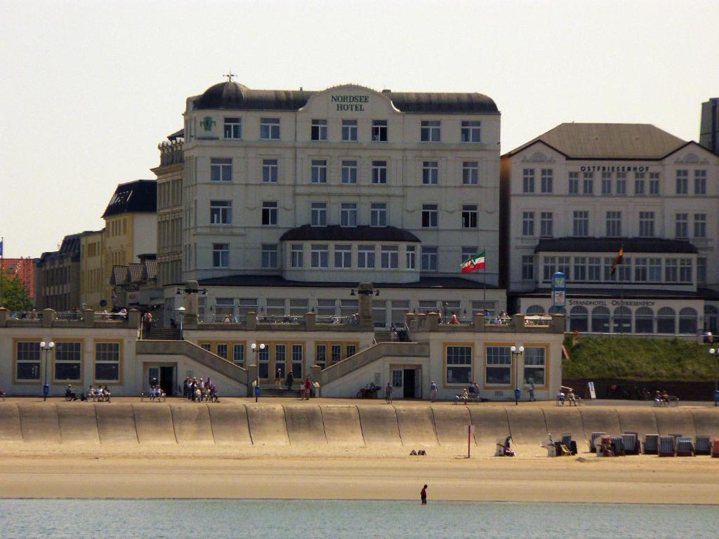 Nordsee hotel borkum deutschland borkum for Hotel direkt an der nordsee