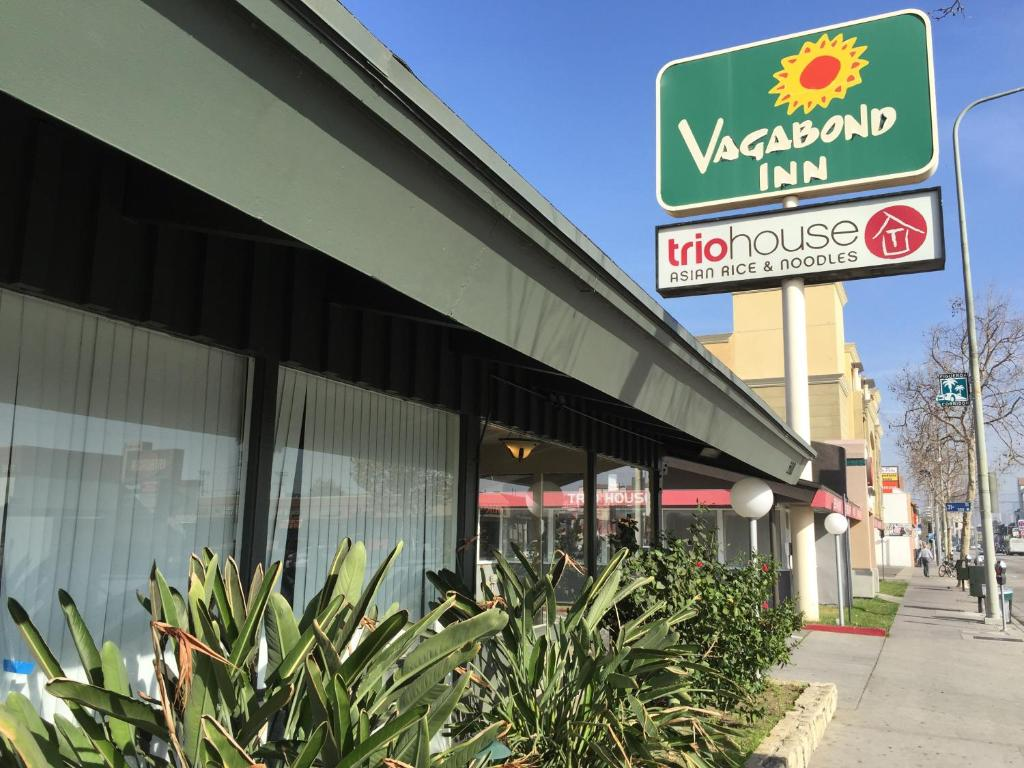 The Vagabond Inn at 3101 South Figeroa Street Los Angeles