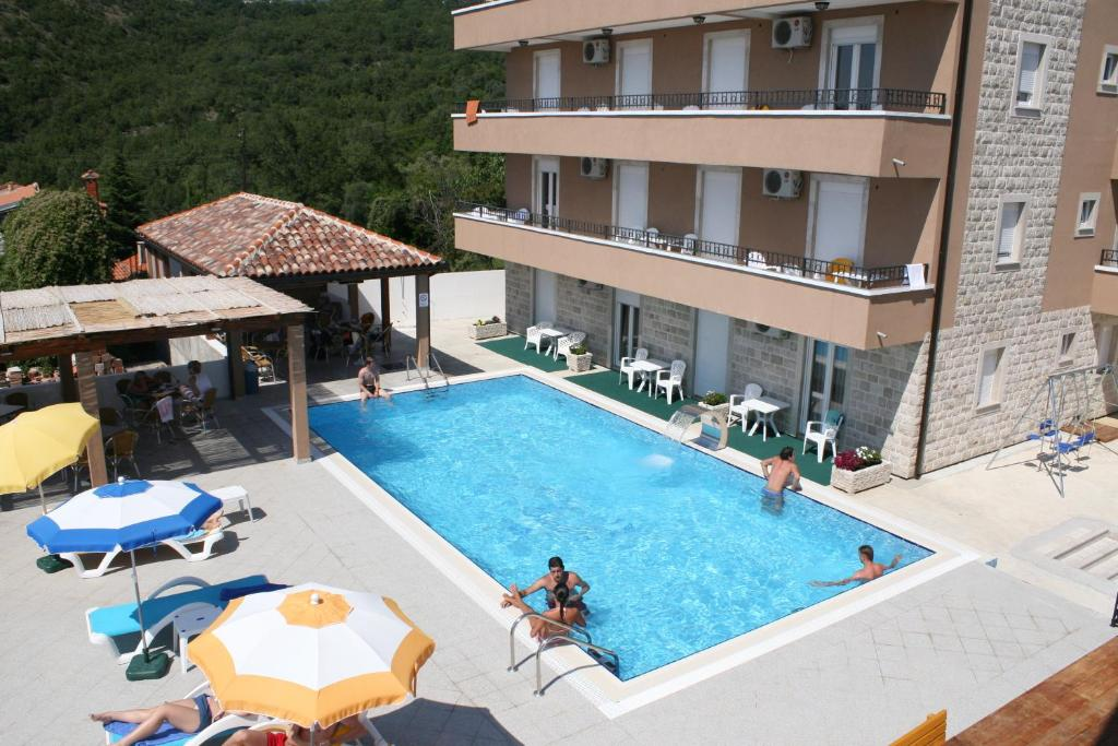 The swimming pool at or near Guest House Đurašević