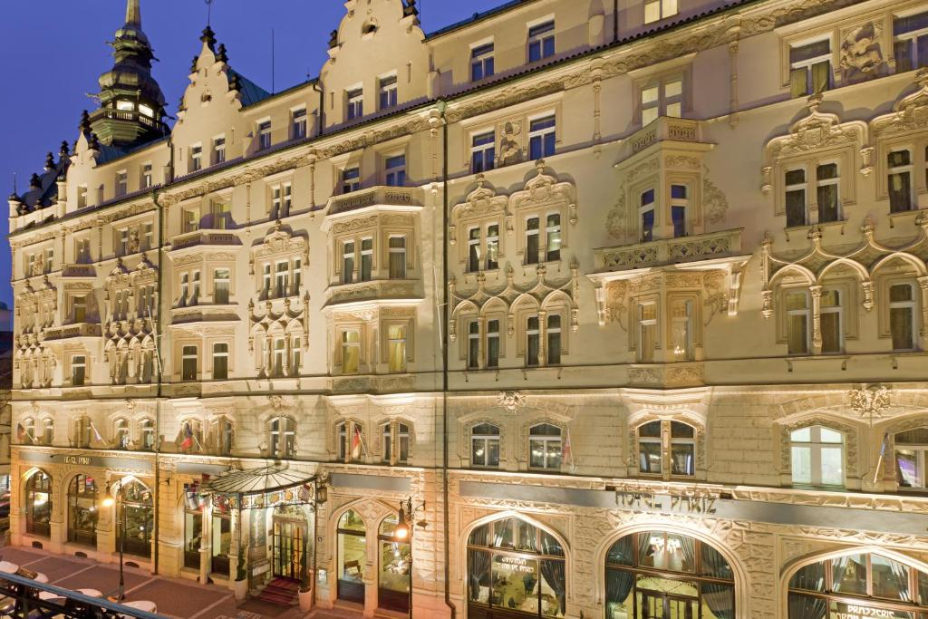 Hotel Paris Prague Czech Republic Booking Com