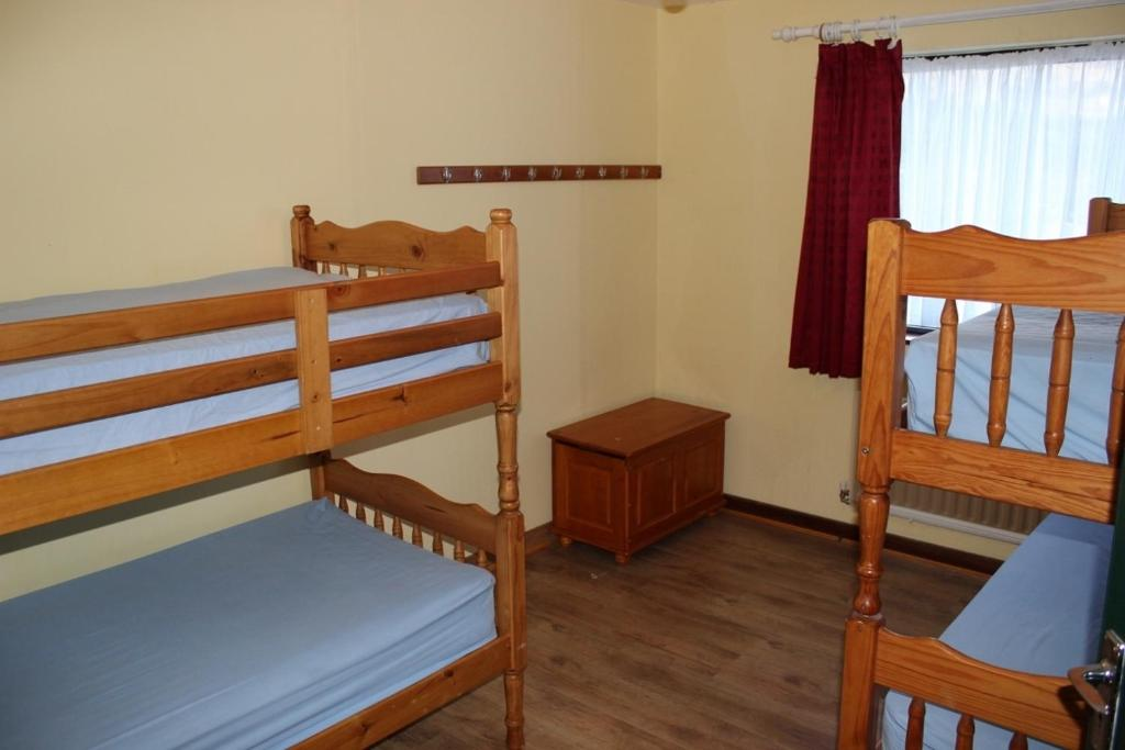 A bunk bed or bunk beds in a room at Connemara Mountain Hostel