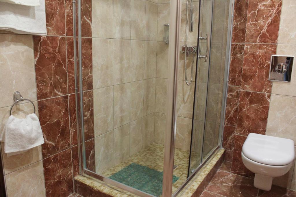 Ванная комната в Отель Кубань