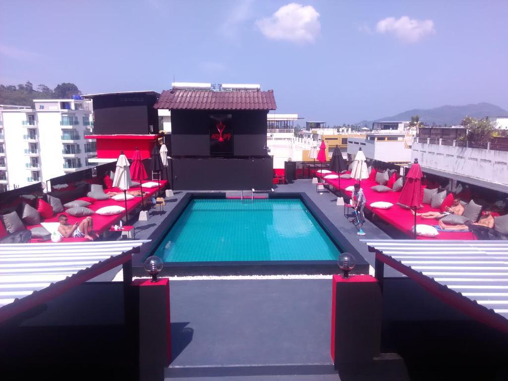 The swimming pool at or close to Sharaya Patong Hotel