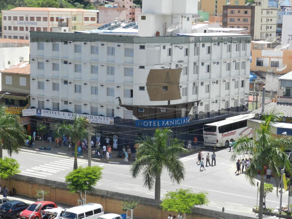 A bird's-eye view of Hotel Faenician