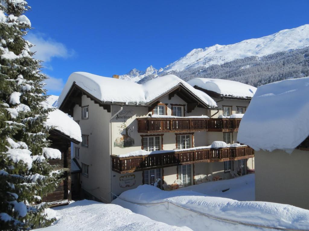 Chalet Aeschhorn during the winter