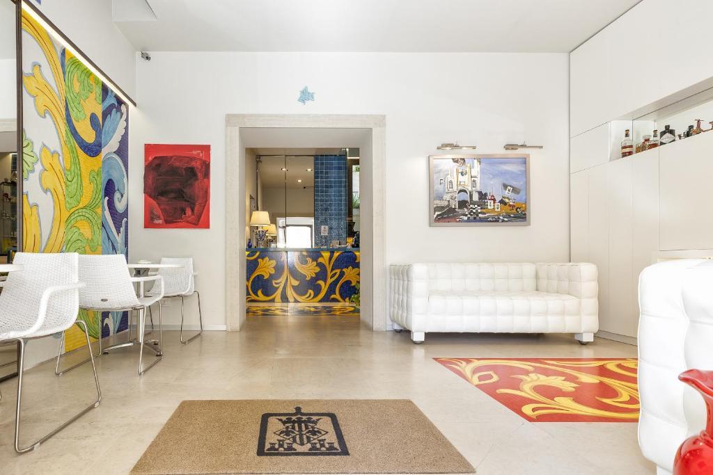 A seating area at Porta del Tocco Design Rooms
