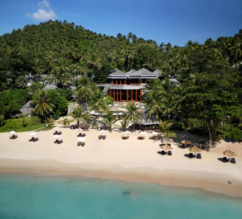 A bird's-eye view of The Surin Phuket